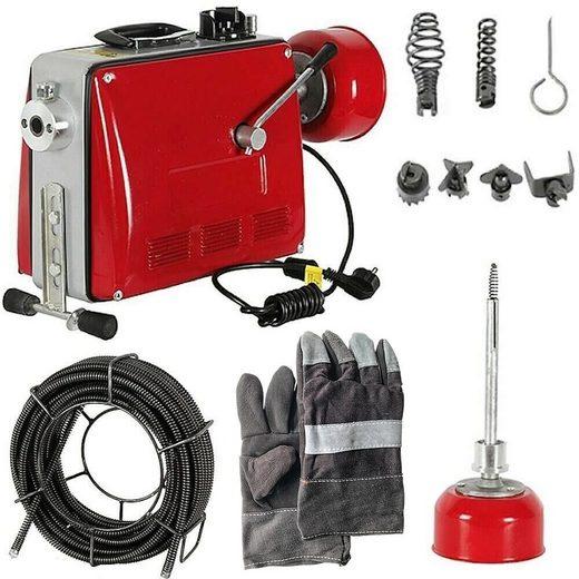 Mucola Rohrreinigungsspirale »Rohrreinigungsmaschine 500W 16mm Rohrreinigungsgerät Rohrreiniger Abflussreinige«