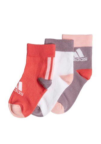 adidas Performance Socken »Ankle Socken 3 Paar«