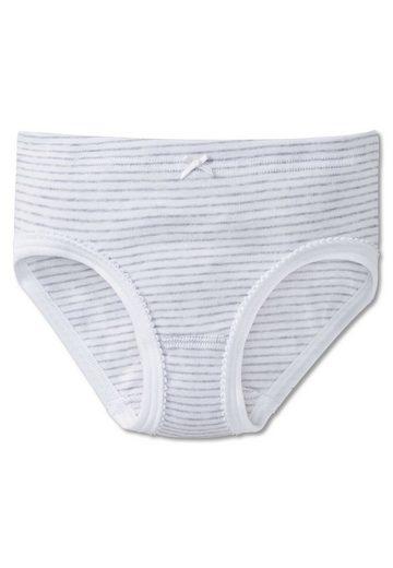 Schiesser Slip »Mädchen Slip - Unterhose, Hüftslip, Feinripp,«