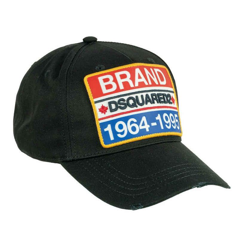 Dsquared2 Baseball Cap »BRAND« Schwarz