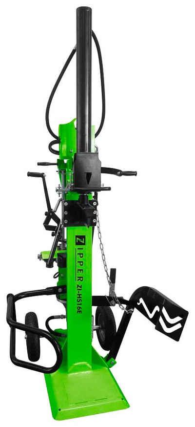 ZIPPER Elektroholzspalter »ZI-HS16E«, Spaltgutlänge bis 110 cm, Spaltgutdurchmesser bis 30 cm, 400 V/16 A Drehstrom