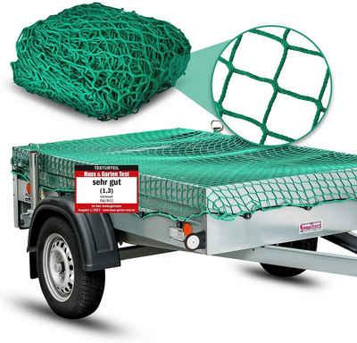 HEIMWERT Laubschutznetz »Anhängernetz 3x2m mit 12 Befestigungshaken«