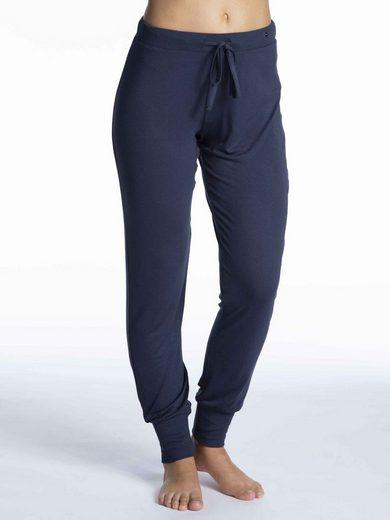 Esprit Homewearhose »Pants mit Bündchen« (1-tlg)