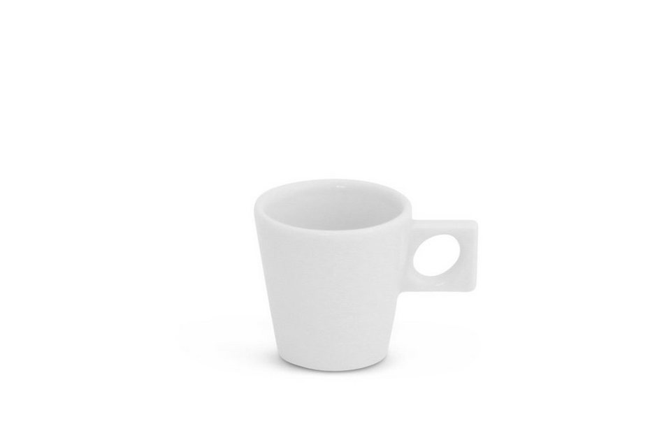 Espresso Untertasse 12cm NYNY Weiß Walküre Porzellan