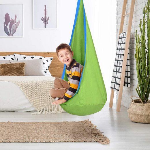 COSTWAY Hängehöhle »Kinderhängesitz mit Sitzkissen«