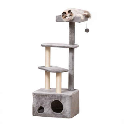 PawHut Kratzbaum »Katzenbaum mit Katzenhöhle«
