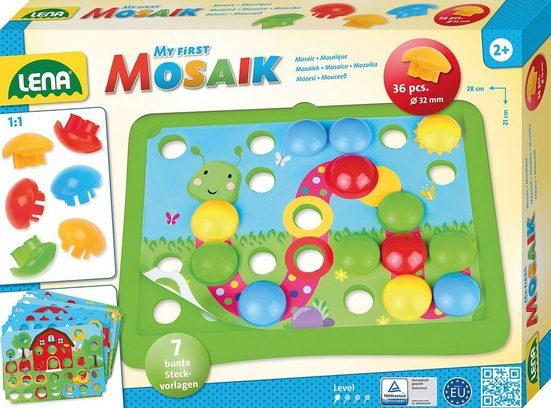 Lena® Malvorlage »My First Mosaik Natur, Mosaik-Steckspiel«