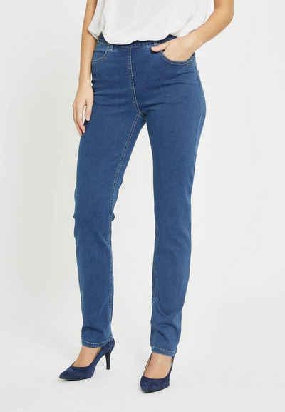 LauRie Bequeme Jeans »Kelly« in geradem Schnitt