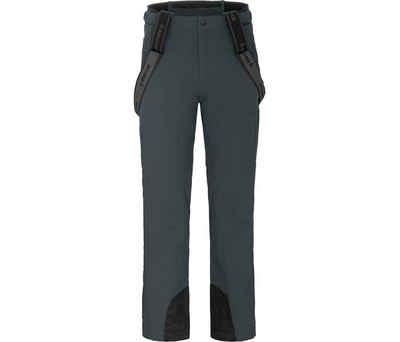 Bergson Skihose »FLEX light« Herren Skihose, unwattiert, 20000mm Wassersäule, Normalgrößen, dunkel grau