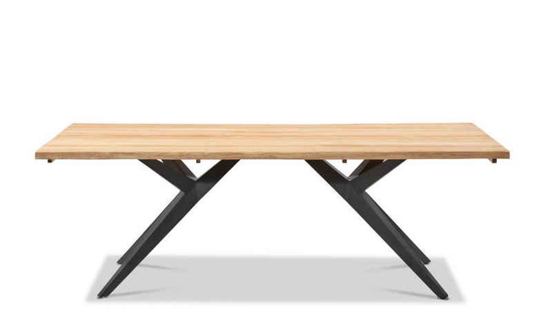 Musterring Gartentisch, Tisch Holland 280x95 / 76 cm Schwarz