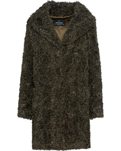 Milestone Langmantel »Fake Fur Curly Mantel Katnis«