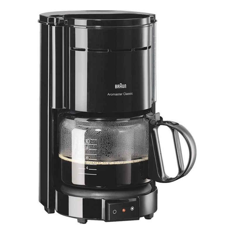 Braun Filterkaffeemaschine KF47/1, frontal bedienbar und mit Abschaltautomatik
