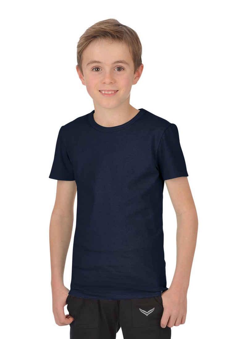 Trigema T-Shirt aus Baumwolle/Elastan