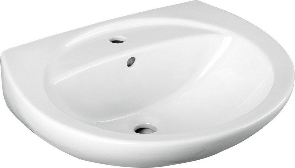 Cornat Keramik Waschtisch Waschbecken Breite 60 5 Cm Mit Euro Abgang Online Kaufen Otto