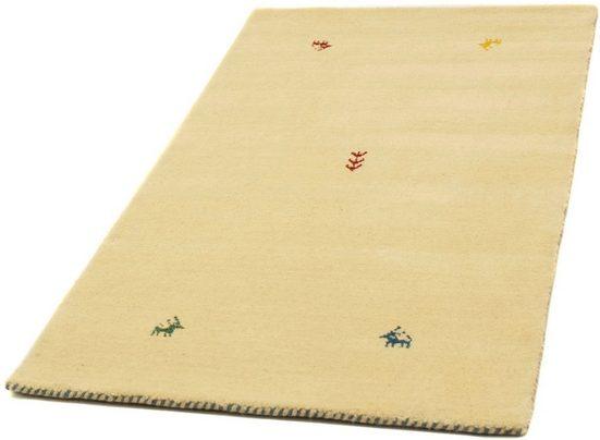 Wollteppich »Gabbeh Teppich Deluxe«, morgenland, rechteckig, Höhe 15 mm