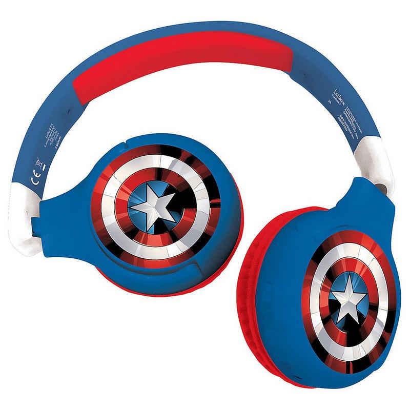 Lexibook® »Avengers Kabellose Bluetooth Kopfhörer für Kinder« Kinder-Kopfhörer