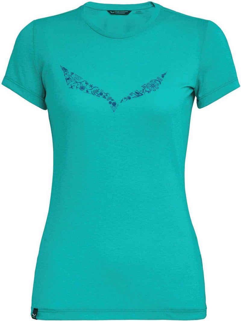 Salewa T-Shirt »SOLID DRI-REL W S/S TEE«