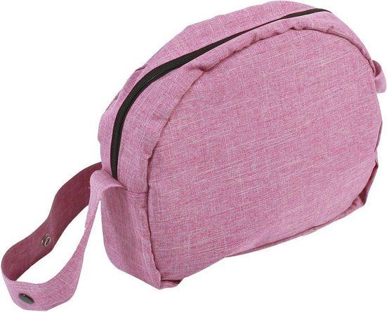 CHIC2000 »Wickeltasche für Puppen, Jeans pink« Puppenhausmöbel