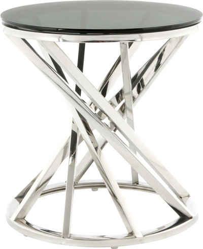 Kayoom Beistelltisch »Beistelltisch Wesley 125«, schöne gedrehte Form