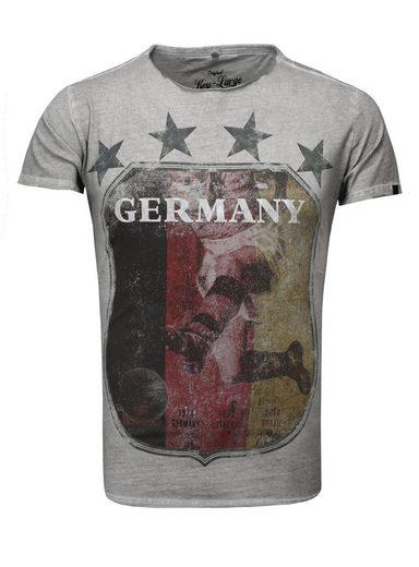 Key Largo T-Shirt mit großem Germany-Frontdruck