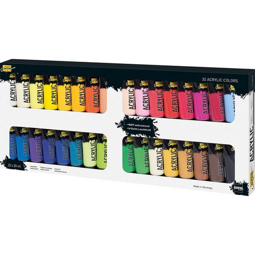 C. KREUL SOLO GOYA Acrylfarbe, 32 x 20 ml