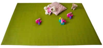 Teppich »Krabbelmatten Grün Kinderspielmatten Krabbelunterlage diverse Größen«, Mr. Ghorbani, Rechteckig, Höhe 4.5 mm