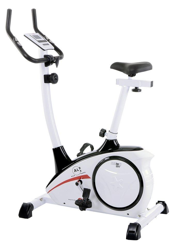 Christopeit Sport® Ergometer, »AL 2« in weiß-schwarz-rot