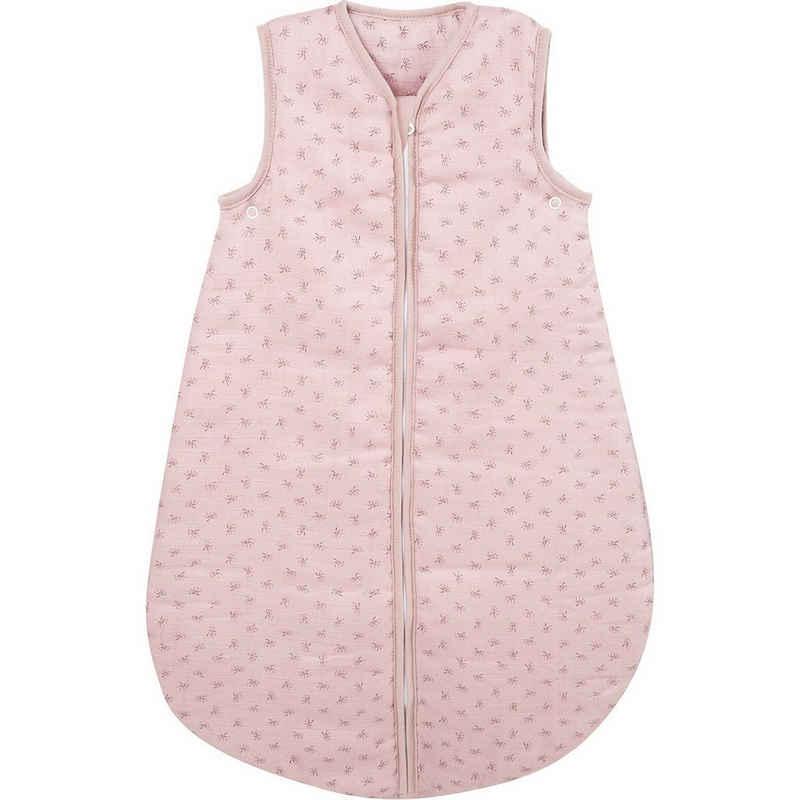 """roba® Babyschlafsack »Schlafsack """"Lil Planet"""", 100% Baumwolle, rosa, 70«"""