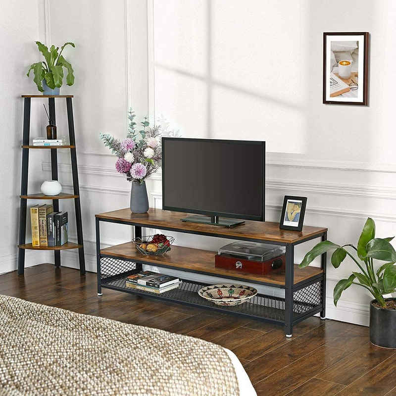 VASAGLE TV-Schrank »LTV50BX« TV-Lowboards, 140 x 40 x 51,5 cm (L x B x H), vintage