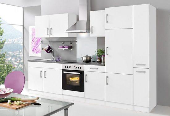 HELD MÖBEL Küchenzeile »Toronto«, mit E-Geräten, Breite 300 cm