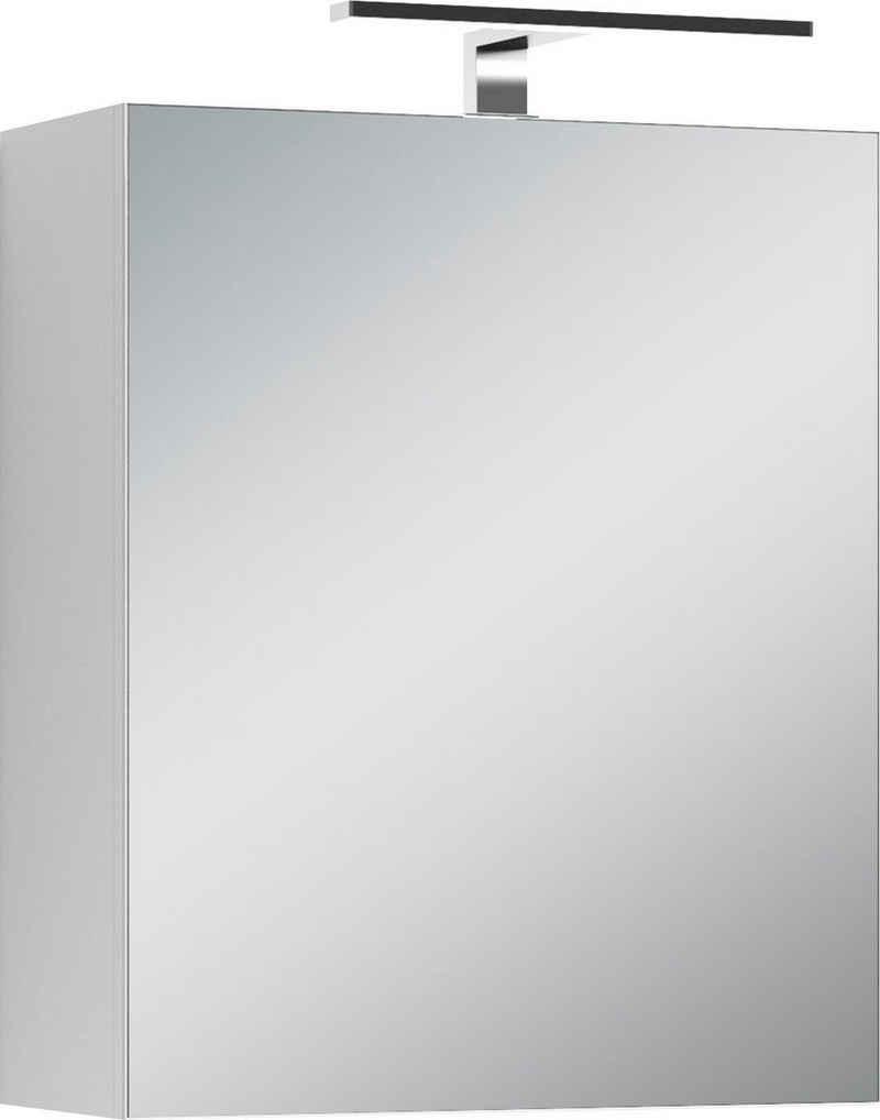 Homexperts Spiegelschrank »Salsa« Breite 50 cm, mit LED-Beleuchtung & Schalter-/Steckdosenbox