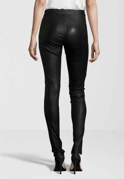 Gipsy Lederhose »Alara« hochwertige Leder-Leggings mit seitlichem Reißverschluss am Bund