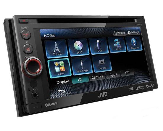 JVC Audio-System (JVC KW-AV61BTE - 2-DIN, DVD, Bluetooth, MP3, USB Autoradio)