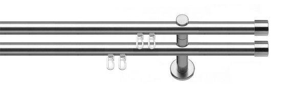Gardinenstange »Consul«, indeko, Ø 20 mm, 2-läufig, Wunschmaßlänge
