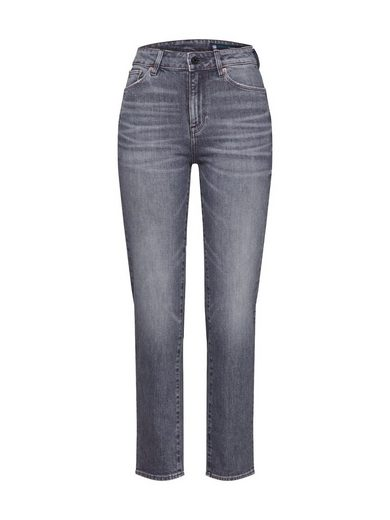 G-Star RAW Regular-fit-Jeans »3301 High Straight 90's Ankle Wmn«