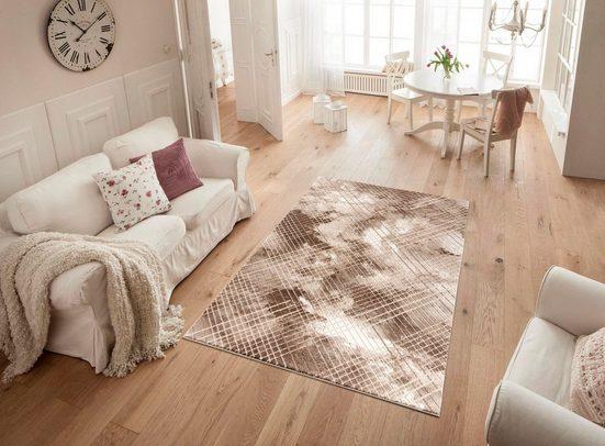 Teppich »Ferit«  my home  rechteckig  Höhe 12 mm  Vinage-Optik