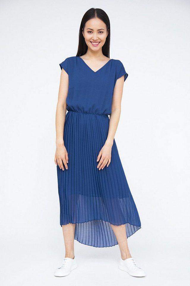 finn flare -  Jerseykleid mit V-Ausschnitt