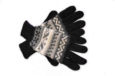 Posh Gear Strickhandschuhe »Guantilissi Alpaka Fingerhandschuhe« aus 100% Alpakawolle