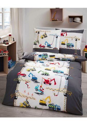 Kaeppel Kinderbettwäsche »Construction« su Bau...