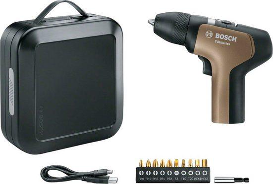 BOSCH Akkuschrauber »YouSeries Drill «, 3,6 V, inkl. Akku und USB-C Kabel