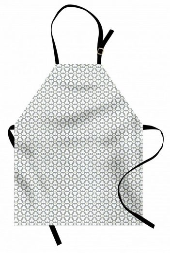 Abakuhaus Kochschürze »Höhenverstellbar Klare Farben ohne verblassen«, Blumen Pastel Tone Grafik Formen