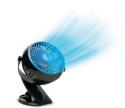 LIVINGTON Akku-Standventilator Go Fan, schwarz