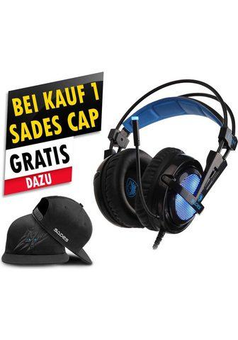 Sades »Locust Plus SA-904« Gaming-Headset (R...