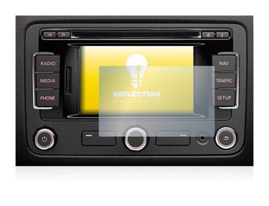 """upscreen Schutzfolie »für Volkswagen Golf A6 2009-2014 RNS 315 5""""«, Folie Schutzfolie matt entspiegelt"""