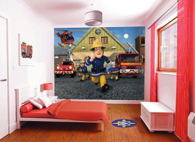 Walltastic Tapete Feuerwehrmann Sam