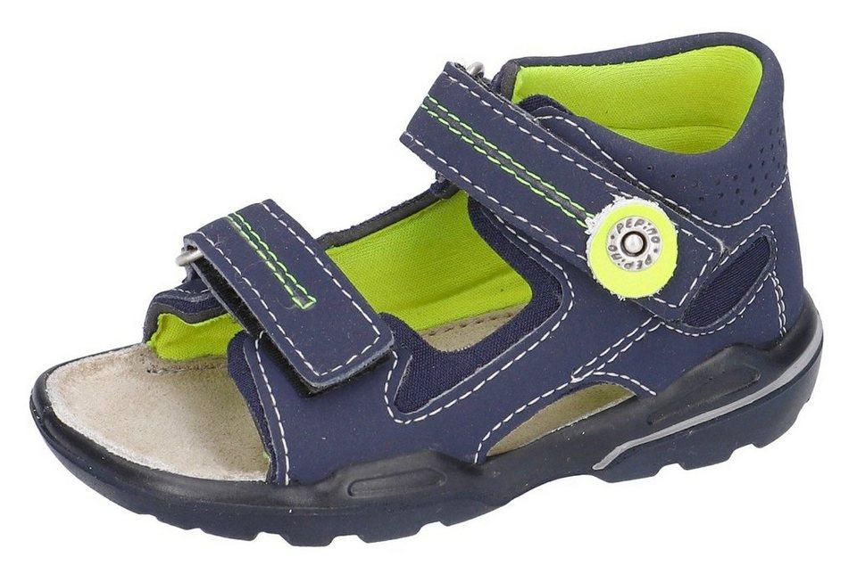 pepino by ricosta manti sandale mit wms weitenmesssystem weite mittel