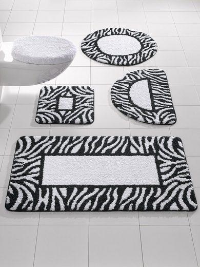 heine home Badgarnitur mit Zebra-Streifen