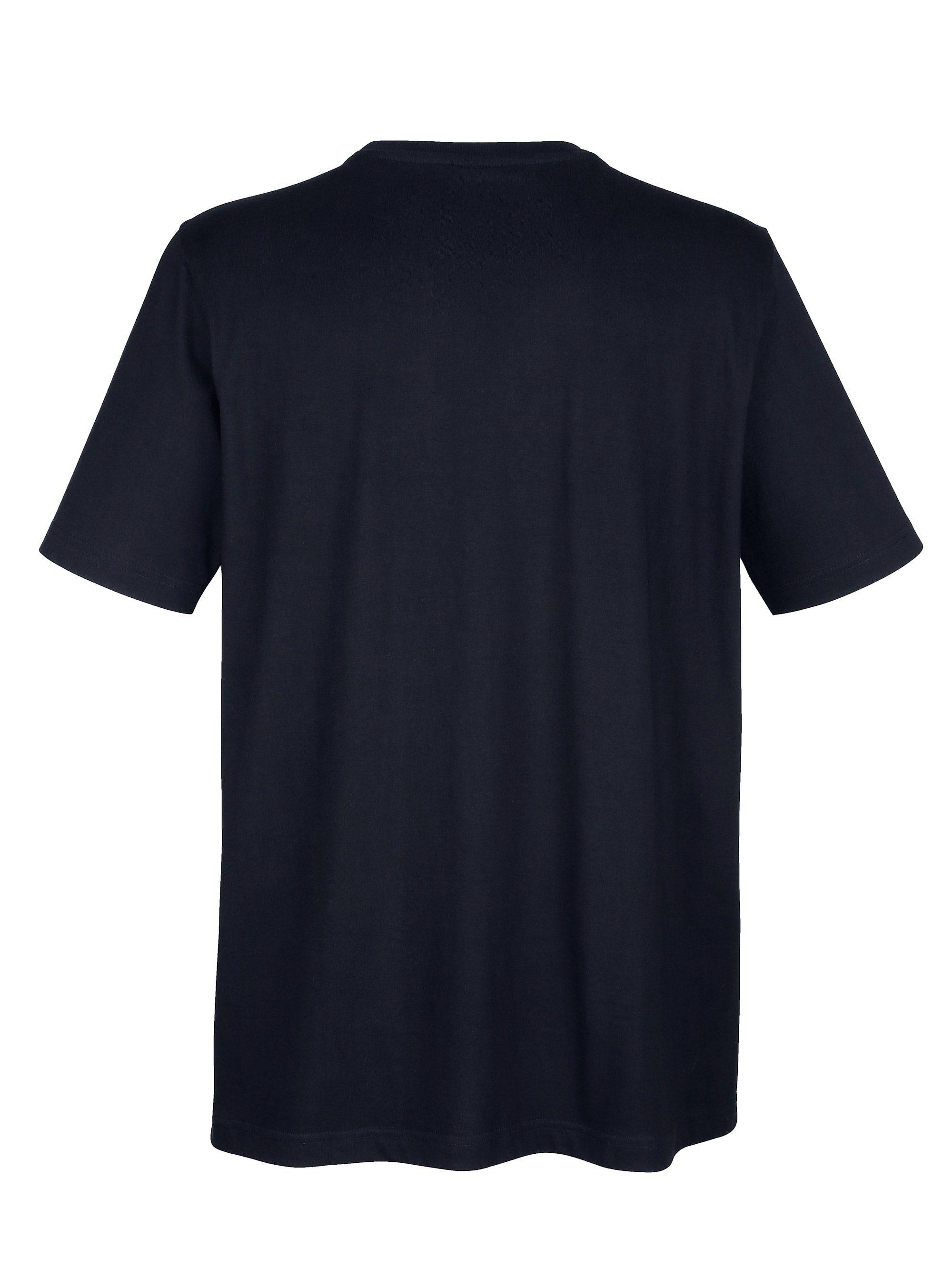 Boston Park T-Shirt mit Brusttasche und Stickerei gOoQpO