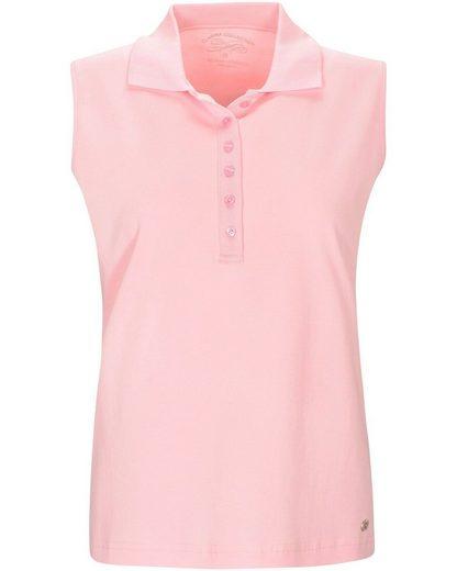 Clarina Poloshirt »Ärmelloses Poloshirt«
