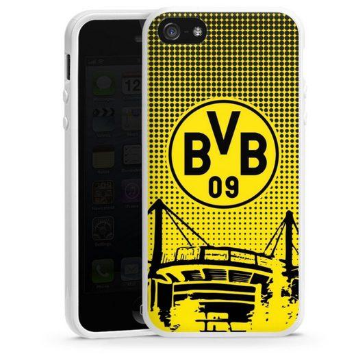 DeinDesign Handyhülle »BVB Dots« Apple iPhone 5, Hülle Stadion BVB Borussia Dortmund
